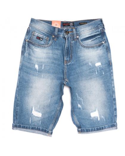 9926-4 R Relucky шорты джинсовые мужские синие коттоновые (29-38, 8 ед.) Relucky
