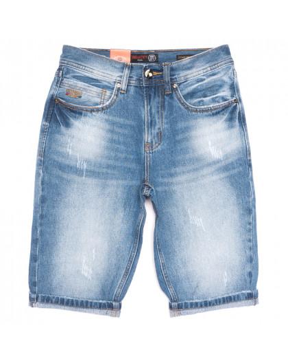 8810-4 R Relucky шорты джинсовые мужские молодежные синие коттоновые (28-36, 8 ед.) Relucky