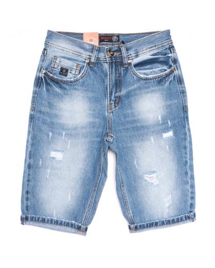 8811-4 R Relucky шорты джинсовые мужские молодежные синие коттоновые (28-36, 8 ед.) Relucky