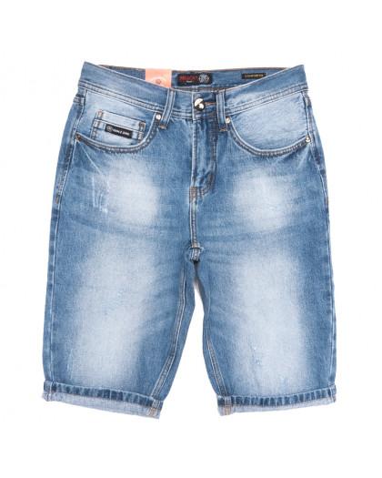 9929-4 R Relucky шорты джинсовые мужские синие коттоновые (29-38, 8 ед.) Relucky