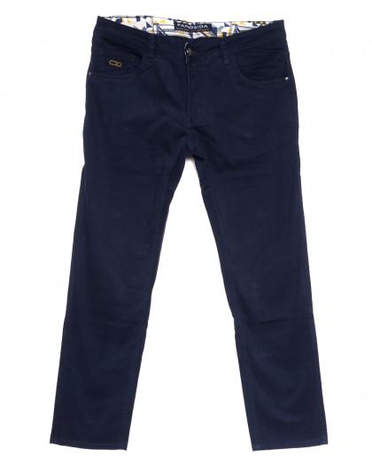 2139 Fangsida джинсы мужские синие весенние стрейчевые (29-38, 8 ед.) Fangsida