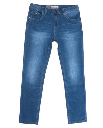 1088 LS джинсы мужские полубатальные синие весенние стрейчевые (32-38, 8 ед.) LS