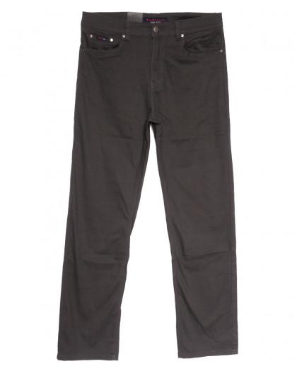 3031-D LS джинсы мужские батальные коричневые весенние стрейчевые (34-44, 8 ед.) LS