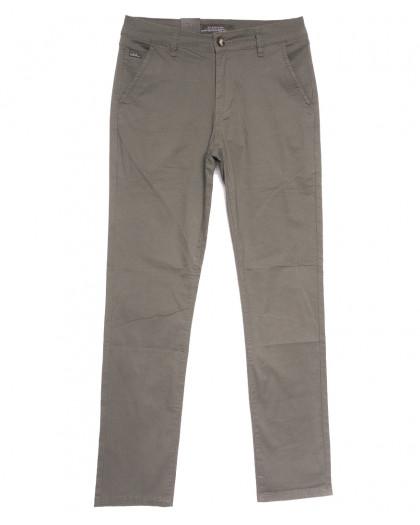 3058 LS брюки мужские хаки весенние стрейчевые (29-38, 8 ед.) LS