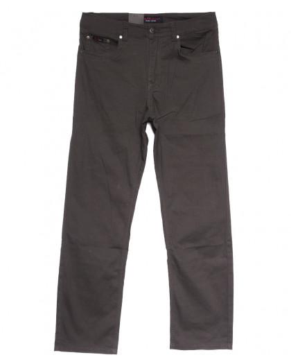 3030-В LS джинсы мужские полубатальные коричневые весенние стрейчевые (32-40, 8 ед.) LS
