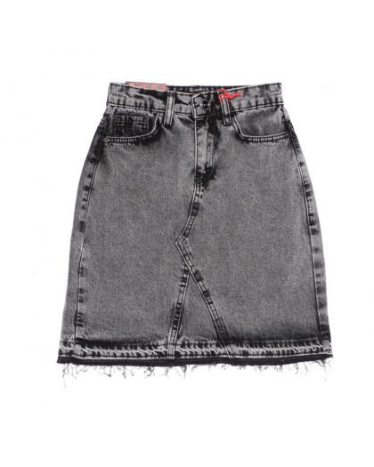 0786 Redmoon юбка джинсовая серая весенняя коттоновая (25-30, 6 ед.) REDMOON