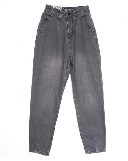 0765 Redmoon джинсы-баллон серые весенние коттоновые (25-30, 6 ед.) REDMOON