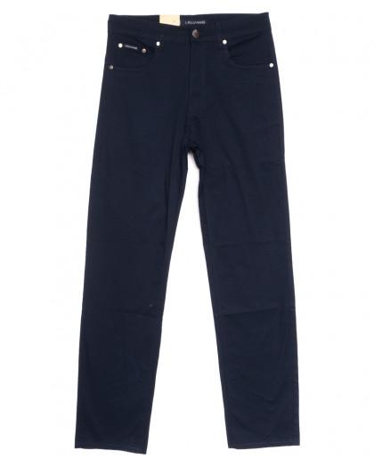 9014-В LS джинсы мужские полубатальные темно-синие весенние стрейчевые (32-40, 8 ед.) LS