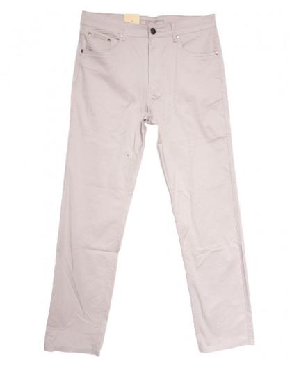 9020-D LS джинсы мужские батальные бежевые весенние стрейчевые (34-44, 8 ед.) LS