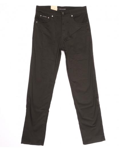 9001-В LS джинсы мужские полубатальные коричневые весенние стрейчевые (32-40, 8 ед.) LS