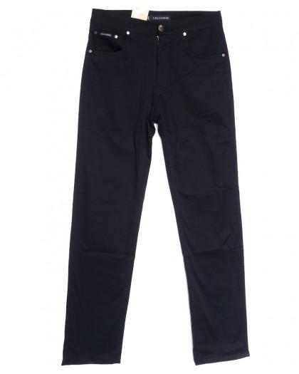 9021-B LS джинсы мужские полубатальные темно-синие весенние стрейчевые (32-40, 8 ед.) LS