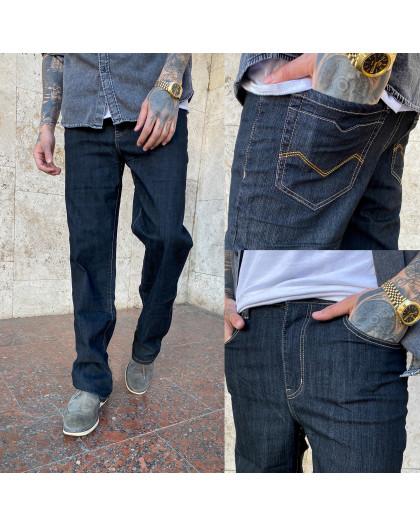 17001 (B) черные норма WVS джинсы мужские черные весенние стрейчевые (30-36, 6 ед.) WVS