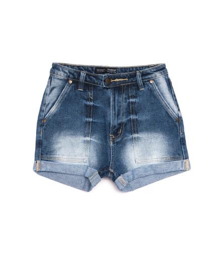 6663-5 A Relucky шорты джинсовые женские синие коттоновые (25-30, 6 ед.) Relucky
