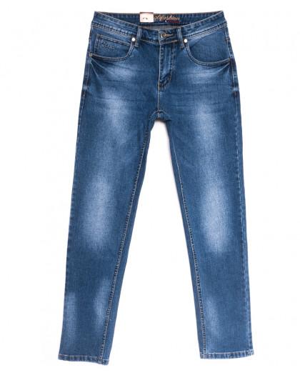 2195 Longli джинсы мужские синие весенние стрейчевые (30-38, 8 ед.) Longli