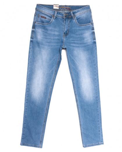 2235 Longli джинсы мужские голубые весенние стрейчевые (30-38, 8 ед.) Longli