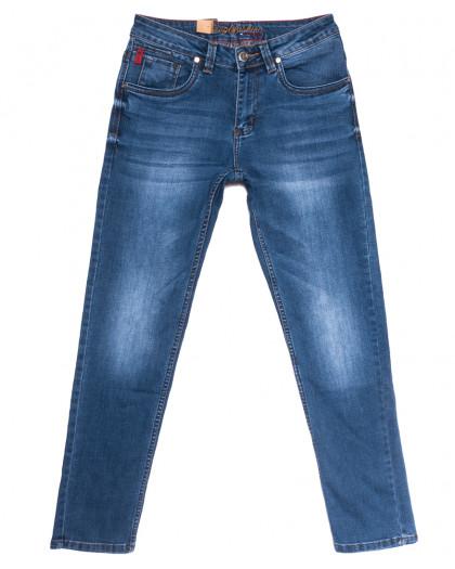 2196 Longli джинсы мужские синие весенние стрейчевые (30-38, 8 ед.) Longli