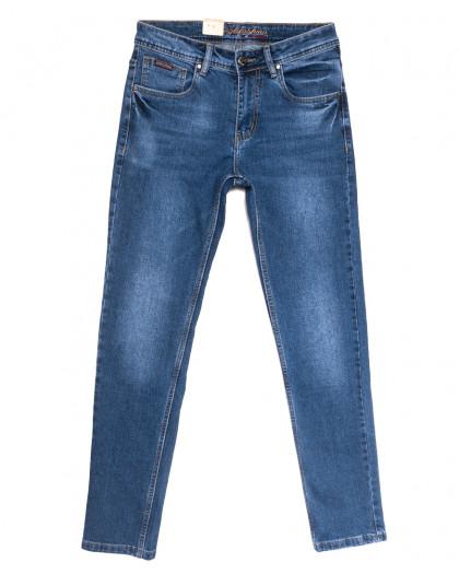 2233 Longli джинсы мужские синие весенние стрейчевые (30-38, 8 ед.) Longli