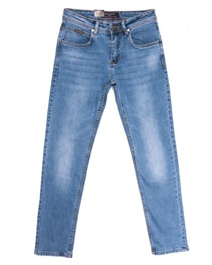 2186 Longli джинсы мужские синие весенние стрейчевые (29-38, 8 ед.) Longli