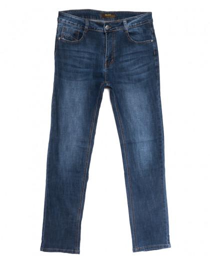 0707-В Likgass джинсы мужские синие весенние стрейчевые (30-38, 8 ед.) Likgass