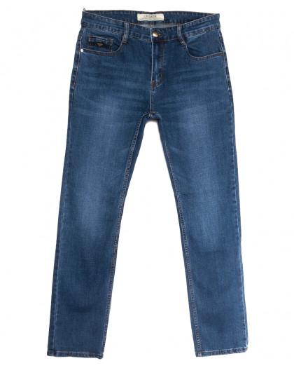 0648-В Likgass джинсы мужские синие весенние стрейчевые (31-38, 8 ед.) Likgass