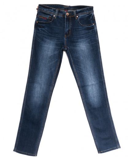 0649-А Likgass джинсы мужские синие весенние стрейчевые (29-38, 8 ед.) Likgass
