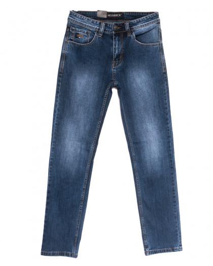 59938 Moshrck джинсы мужские полубатальные синие весенние стрейчевые (32-38, 8 ед.) Moshrck