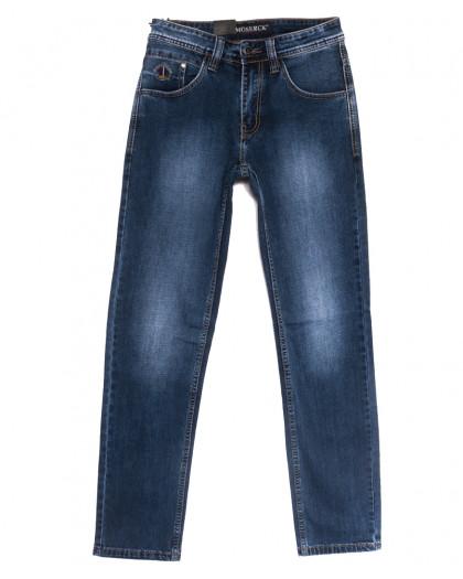 59937 Moshrck джинсы мужские синие весенние стрейчевые (29-38, 8 ед.) Moshrck