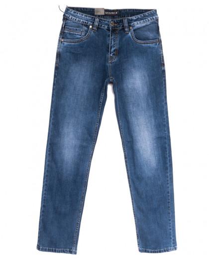 59973-1 Moshrck джинсы мужские полубатальные синие весенние стрейчевые (32-38, 8 ед.) Moshrck