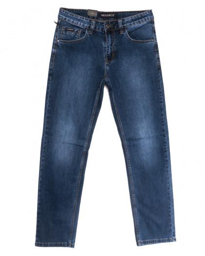 59939 Moshrck джинсы мужские полубатальные синие весенние стрейчевые (32-38, 8 ед.) Moshrck