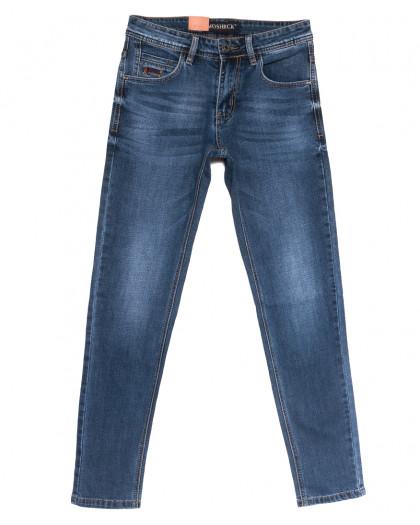59930 Moshrck джинсы мужские молодежные синие весенние стрейчевые (28-36, 8 ед.) Moshrck