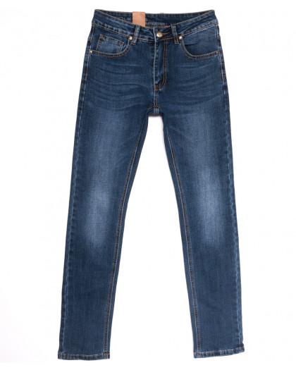 0742 Likgass джинсы мужские молодежные синие весенние стрейчевые (28-36, 8 ед.) Likgass