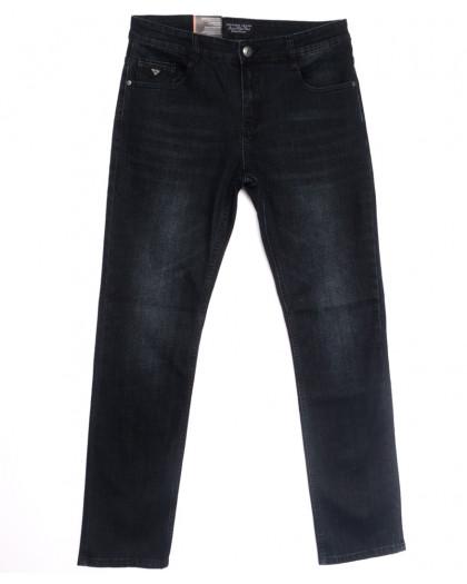 0642-А Likgass джинсы мужские полубатальные черные весенние стрейчевые (32-38, 8 ед.) Likgass