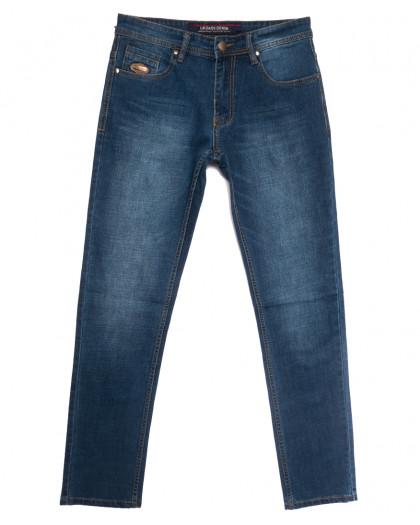 0584-77-В Likgass джинсы мужские синие весенние стрейчевые (30-38, 8 ед.) Likgass
