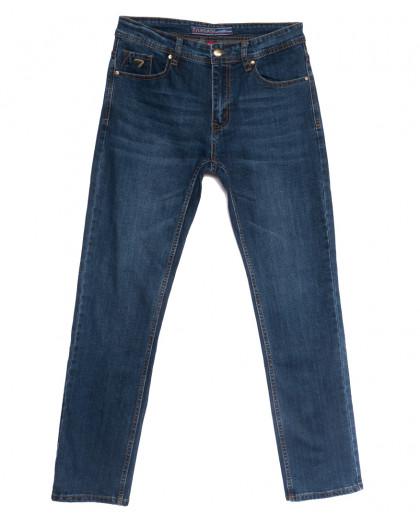 0646-В Likgass джинсы мужские синие весенние стрейчевые (30-38, 8 ед.) Likgass