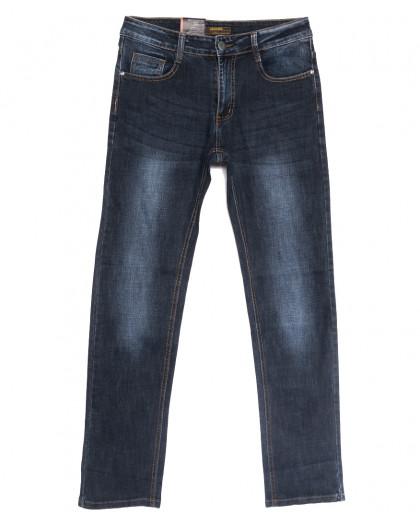 0712-А Likgass джинсы мужские темно-синие весенние стрейчевые (30-38, 8 ед.) Likgass