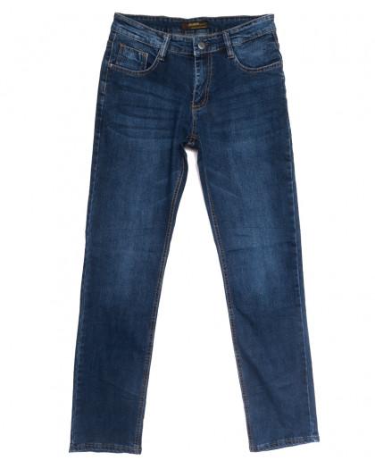 0721-А Likgass джинсы мужские синие весенние стрейчевые (30-38, 8 ед.) Likgass