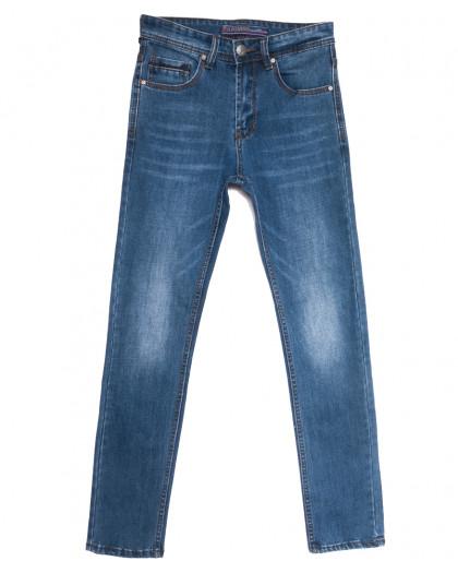 0643-А Likgass джинсы мужские молодежные синие весенние стрейчевые (28-36, 8 ед.) Likgass