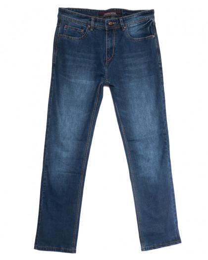0580-36-В Likgass джинсы мужские полубатальные синие весенние стрейчевые (32-38, 8 ед.) Likgass