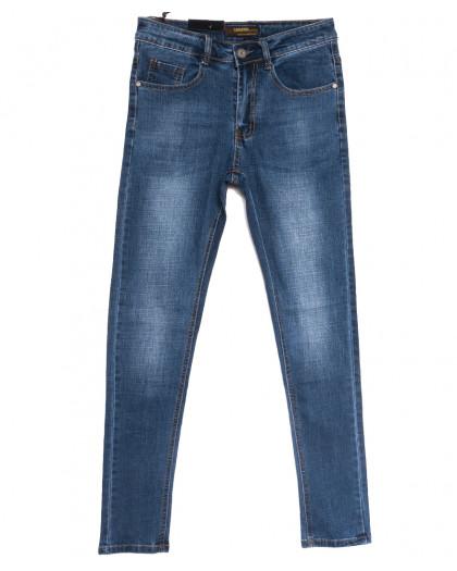 0708 Likgass джинсы мужские молодежные синие весенние стрейчевые (28-36, 8 ед.) Likgass