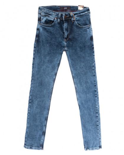6816 Redcode джинсы мужские с царапками синие весенние стрейчевые (29-36, 8 ед.) Redcode
