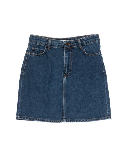 6010-2 Real Focus юбка джинсовая синяя весенняя коттоновая (26-30, 5 ед.) Real Focus