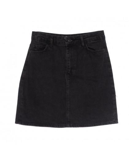 6010-1 Real Focus юбка джинсовая серая весенняя коттоновая (26-30, 5 ед.) Real Focus