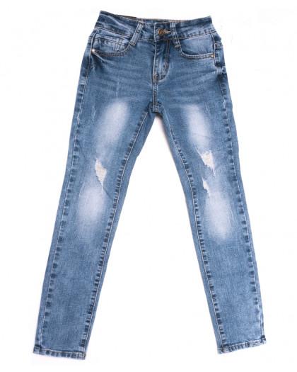 0103 Little Star джинсы на девочку синие весенние стрейчевые (20-25, 6 ед.) Little Star