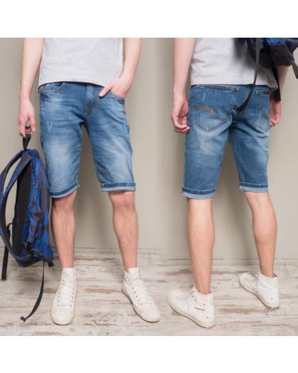 8808-3 R Relucky шорты джинсовые мужские молодежные стрейчевые (28-36, 8 ед.) Relucky