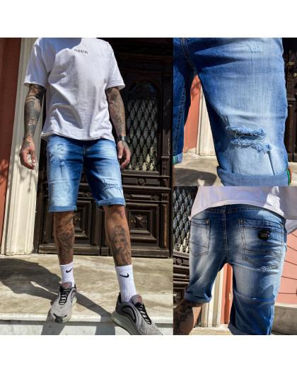 9920-3 R Relucky шорты джинсовые мужские стрейчевые (29-38, 8 ед.) Relucky
