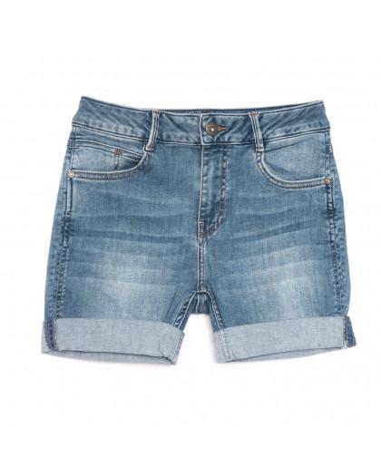 0902 Gecce шорты джинсовые женские синие стрейчевые (36-42, 5 ед.) Gecce