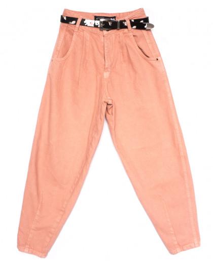 0829 Sherocco джинсы-баллон пудра весенние коттоновые (25-30, 6 ед.) SheRocco