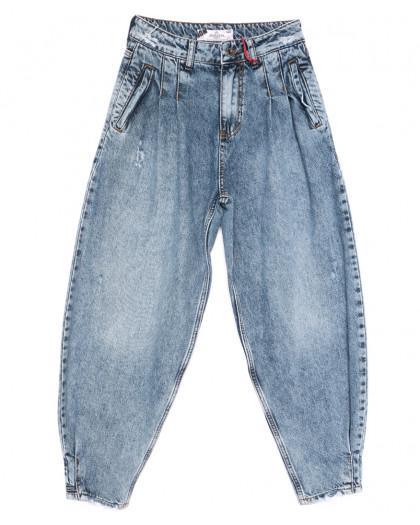 5479 Sessanta джинсы-баллон синие весенние коттоновые (25-30, 6 ед.) Sessanta