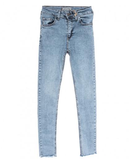 0213 Dobre джинсы женские синие весенние стрейчевые (25-31, 5 ед.) Dobre