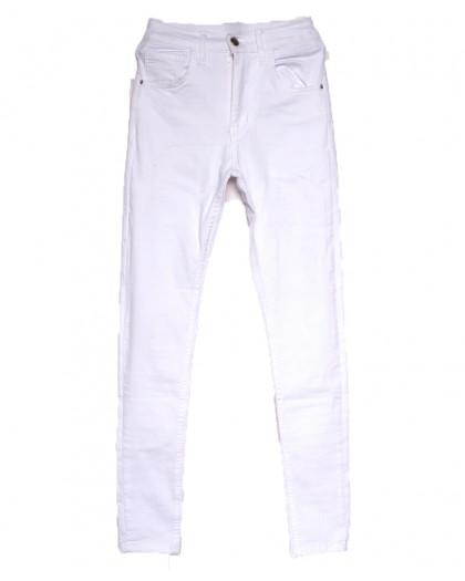 0212 Dobre джинсы женские белые весенние стрейчевые (34-42,евро, 5 ед.) Dobre